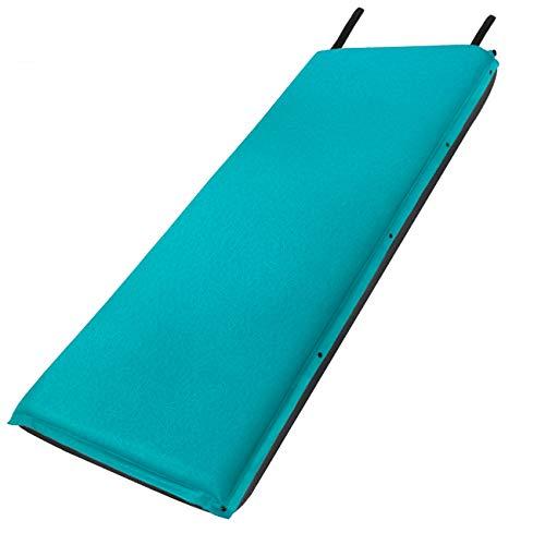 Forceatt isomatte selbstaufblasend - 8cm Dickes Isomatte Camping und rutschfeste Partikel auf der Rückseite Ideal für Rucksacktouren und Camping,(Ultraleicht Kleines Packmaß).