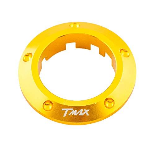 ONE by CAMAMOTO cornice si chiave per yamaha t-max 530, contorno chiave t-max 530, coperchio chiave per yamaha t-max 530 (ORO)