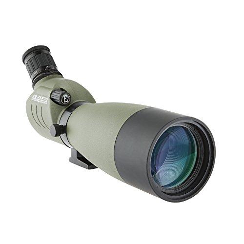 Walimex Pro Spektiv SC040 25-75x70 mm (Spritzwassergeschützt, inkl. Stativ und Transporttasche) olivegrün