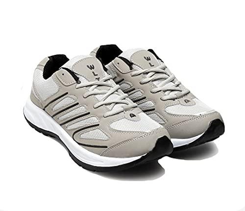 ASIAN Men's Bullet-02 Grey Black Walking,Sports,Gym,Running Shoes UK-6