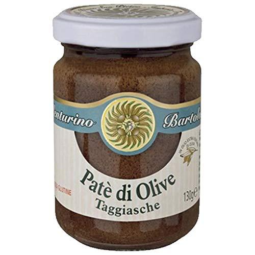 Paté di Olive Taggiasche senza Glutine in Olio Extra Vergine di Oliva 130g
