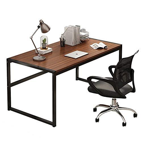 KWOPA Workstation Modernen Einfach Pc Computer Schreibtisch,Industriedesign Konferenztisch Home Office-Tabelle,Für Wohnzimmer Essen Mehrzweck...