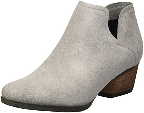 Blondo Women's Victoria Waterproof Rain Shoe, Light Grey Suede, 6.5 M US