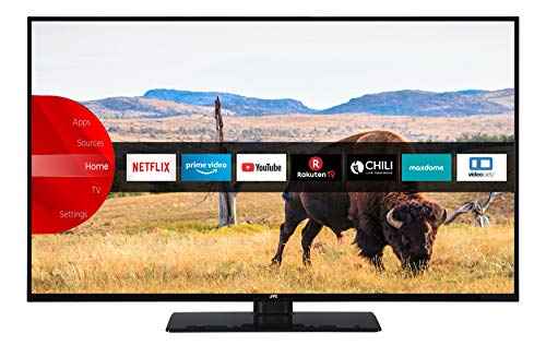 JVC LT-43V55LFA 109 cm / 43 Zoll Fernseher (Smart TV inkl. Prime Video / Netflix / YouTube, Full HD, Bluetooth, Triple-Tuner)