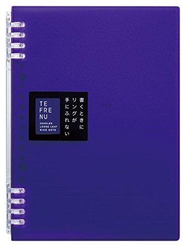 キングジム リングノート テフレーヌ A5 紫 9854TTEムラ