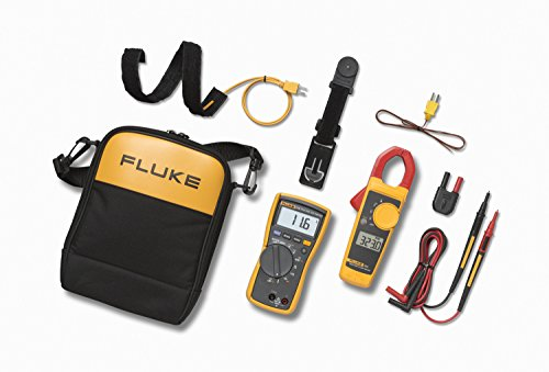 Fluke 116/323 HVAC Multimeter and Clamp Meter Combo Kit