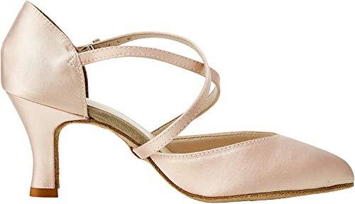 So Danca Bl156, Zapatos de Baile de Sociedad y Latina para Mujer, Beige (Champagne Champagne), 35/36 EU