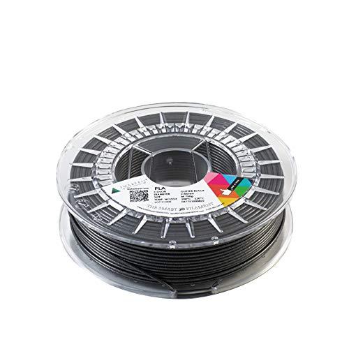 SMARTFIL PLA, 2,85 mm, Glitter Black, 750 g Filament für 3D-Drucker von Smart Materials