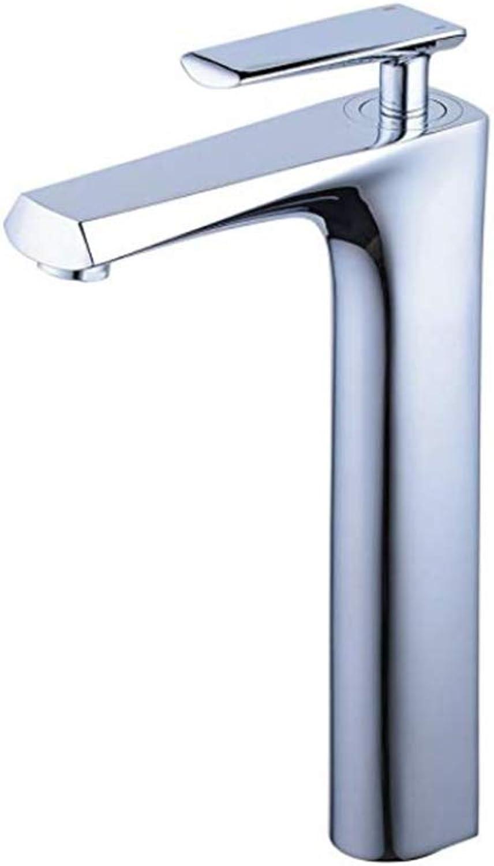 Basin Faucetbasin Mixer Tap Modern Chrome Bathroom Sink Faucet