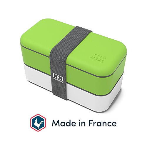 MB Original grün/weiß - Die Bento Box Made in France