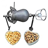 YUYAO Hand-cranked Cannon Corn Popper Old-Fashioned pop Corn Puffing Machine fire Popcorn Maker,5