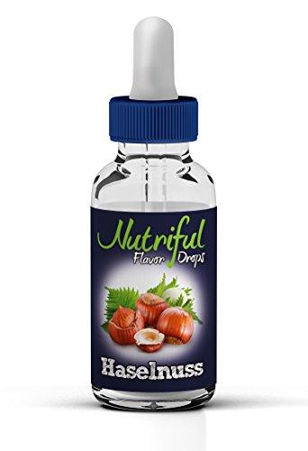 Nutriful Flavor Drops Haselnuss 30ml Geschmackskonzentrat 0kcal