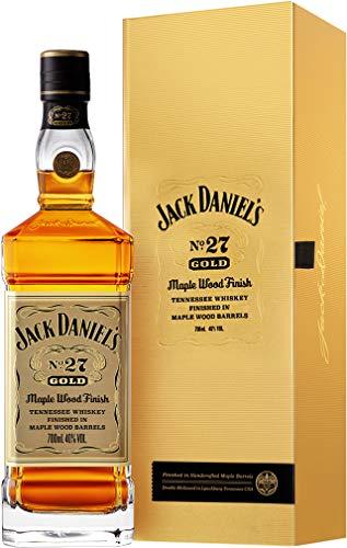 Jack Daniel's No. 27 Gold - Tennessee Whiskey - 40% Vol. (1 x 0.7 l)/Zweifach gelagert, zweifach holzkohlegefiltert. Weltweit einmalig.