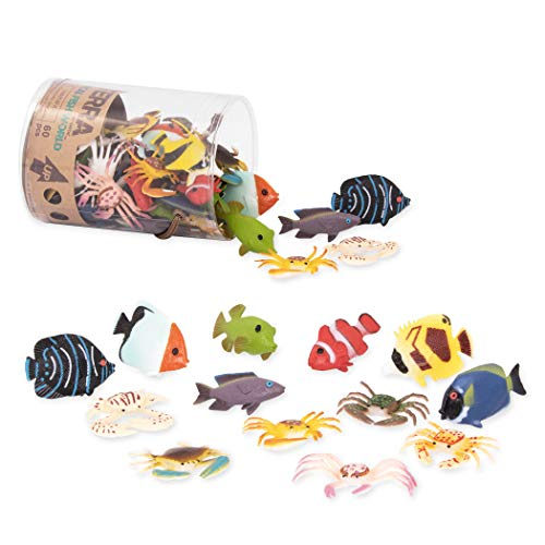 Tropical Fish World – Assorted Miniature Sea Animals