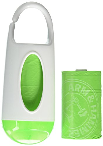 Munchkin Arm and Hammer Diaper Bag Dispenser - Green