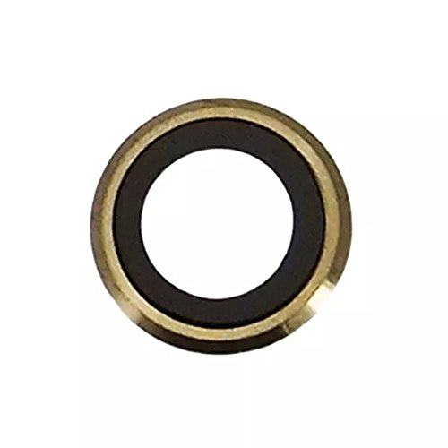 Goliton New Back Camera Lens Rear Camera Glass Lens Frame Replacement Part for iPhone 6 Plus 5.5 inch (Gold)