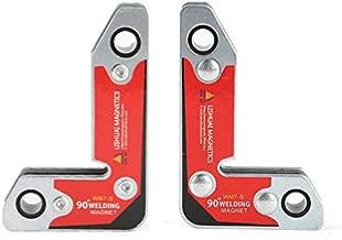 LISHUAI 90 Degree Neodymium Welding Magnets Holder,30 60 90 Angles Magnetic Clamp WM7 (Small)