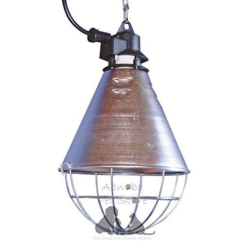 Abnoba Lampada Calore Cucciolo Gattino Whelping Box Kit Riflettore Infrarossi Diametro 21 cm (senza lampadina)