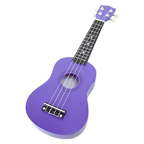 milisten 21 Inch Ukelele Mini Gitaar Muziekinstrument Speelgoed Voor Kinderen Beginners (Paars)