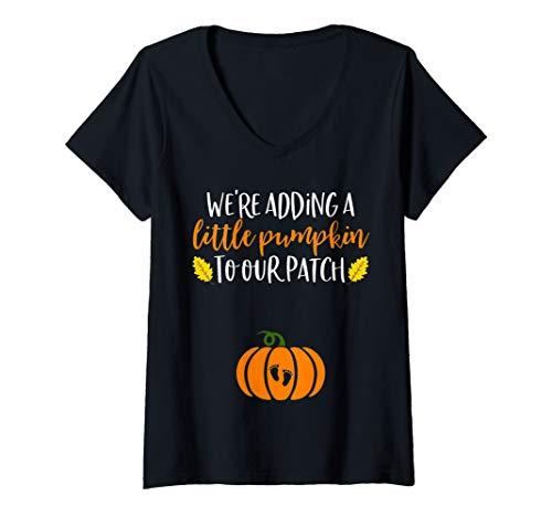 Halloween Baby Reveal V-Neck T-Shirt