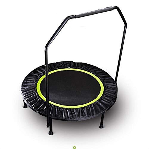 48 trampolín plegable para ejercicios de fitness, reboteador en casa, gimnasio, interior, para primavera, para entrenamiento, estabilidad, herramienta de entrenamiento, color verde