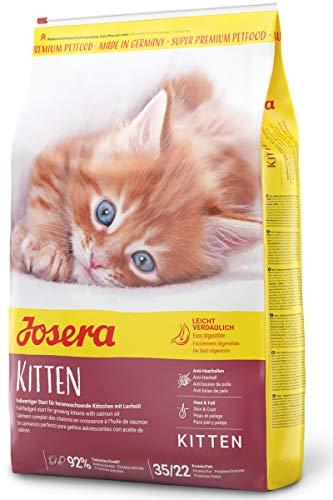 JOSERA Kitten, Katzenfutter für eine optimale Entwicklung, Super Premium Trockenfutter für wachsende Katzen, 1er Pack (1 x 10 kg)