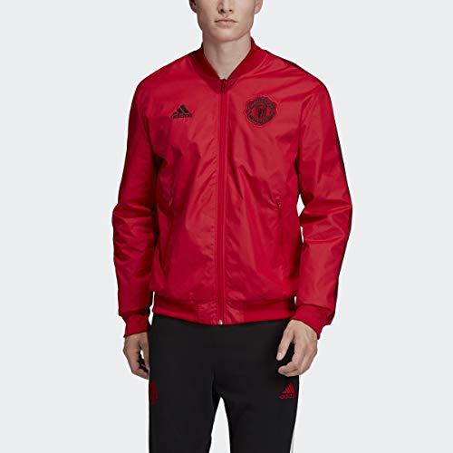 adidas 2019-20 Manchester United Anthem Jacket - Red XL