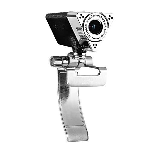 CLC-sxt Webcam HD 1920 * 1080 Computer Web CAM USB For El Ordenador Portátil De Escritorio Smart TV Plug and Play Bajo La Luz De Ganancia 1080P Cámara Web con El Mic: