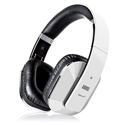 Cascos Inalámbrico con aptX Baja Latencia, Auriculares Bluetooth de Diadema Plegable August...