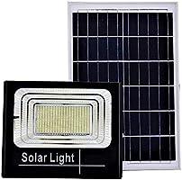 Faro LED SMD 200 W pannello solare energia crepuscolare telecomando DR