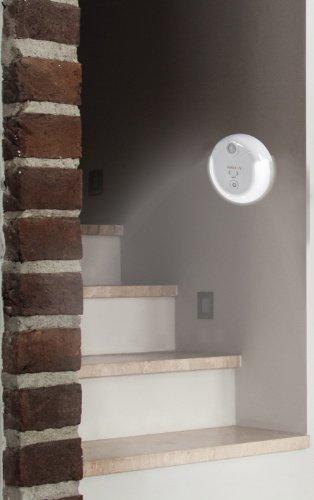 vation Emergency Power Failure Automatic Blackout Light, Handheld Flashlight & Sensor Nightlight - Rechargeable Battery & Wireless Induction Charging (6 LED Light)