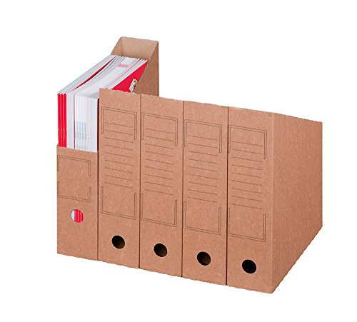 Smartbox Pro Archiv-Stehsammler, 20er Pack, braun