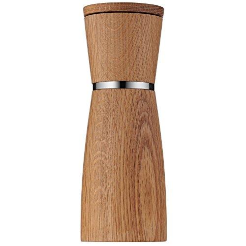 WMF Ceramill Nature Salz und Pfeffermühle unbefüllt Holz Keramikmahlwerk, Mühle für Salz, Pfeffer, Chillischoten, H 17,9 cm