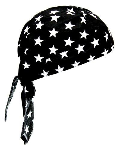 Rocker & Biker Bandana Cap – Sterne - 2