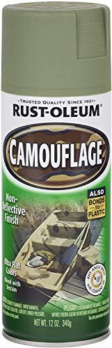 Rust-Oleum 1920-830 1920830 Camouflage Spray, Army Green, 12-Ounce, 12 oz, 12 Ounce