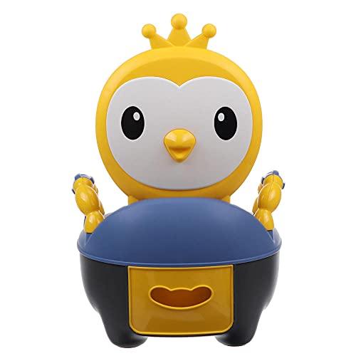 Aseo para niños, asiento antideslizante para niños pequeños, asiento de entrenamiento con asientos, silla de entrenamiento portátil con backrest splash Guard Potty silla para niños pequeños