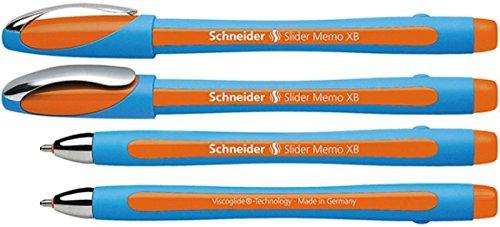Schneider Slider Memo XB Orange Ink Pen
