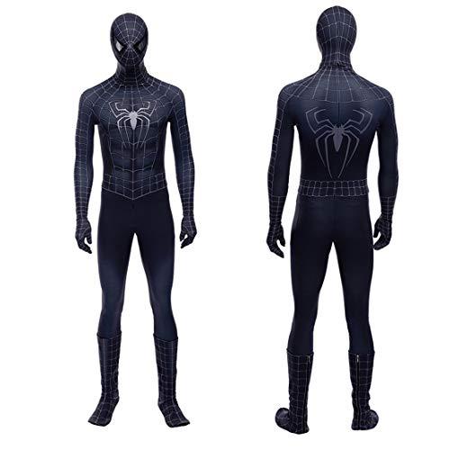 MODRYER Los Aficionados del Traje de Spiderman Veneno de Halloween Superhero Medias Bodies...