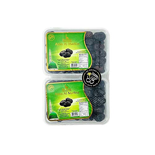 2 Pack of Al AJWA Dates Imported fr…