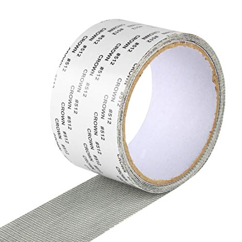 Larcele Window Screen Repair Tape Anti Mosquito Net Hole Sticker 5cm x 2m XBJ-01(Gray)