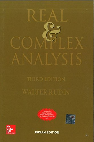Compare Textbook Prices for Real & Complex Analysis 3 Edition ISBN 9780070619876 by Walter Rudin