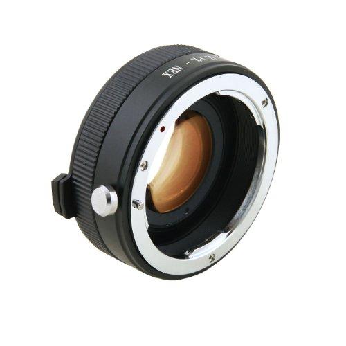 Zhongyi Lens Turbo II 0,72x Speed Booster für Pentax K PK Mount Lens to Sony NEX E Mount APS-C Kamera A6000