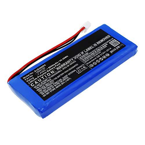 subtel® Batería Compatible con dji Inspire 1 & 2 Controller/Phantom 3, 4 Pro & Pro Plus Controller (Advance, Drones, Professional), 1650120, GL300C, GL300F 6000mAh Pila Repuesto bateria