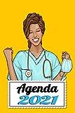 Agenda 2021: Enfermera agenda semanal semana vista organizador Diario  A5 regalo ideal para navidad.