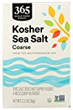 365 by Whole Foods Market, Kosher Sea Salt, Coarse, 2.2 Pound