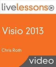 Visio 2013 LiveLessons (Video Training) [VHS]