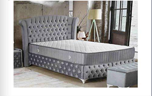 Lucky bed met kist + matras, 25 cm + lattenbodem, 140 x 190 cm