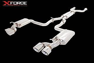 Xforce ES-C63-CBS Xforce- Mercedes Benz C63 Amg Stainless Steel Twin 3