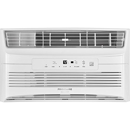 Frigidaire Energy Star 6,000 BTU 115V Window-Mounted Compact Air Conditioner with Full-Function Remote Control, White