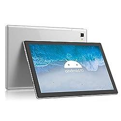 Blackview Tab8 Tablet 25,54cm (10,1 Zoll) Android 10 Tablet-PC (1920x1200 FHD, IPS, Touch 6580mAh Akku, Octa-Core-Prozessor, 4GB RAM, 64GB ROM, 4G LTE Dual SIM, Wi-Fi, Face ID, GPS, Bluetooth) (Grau)
